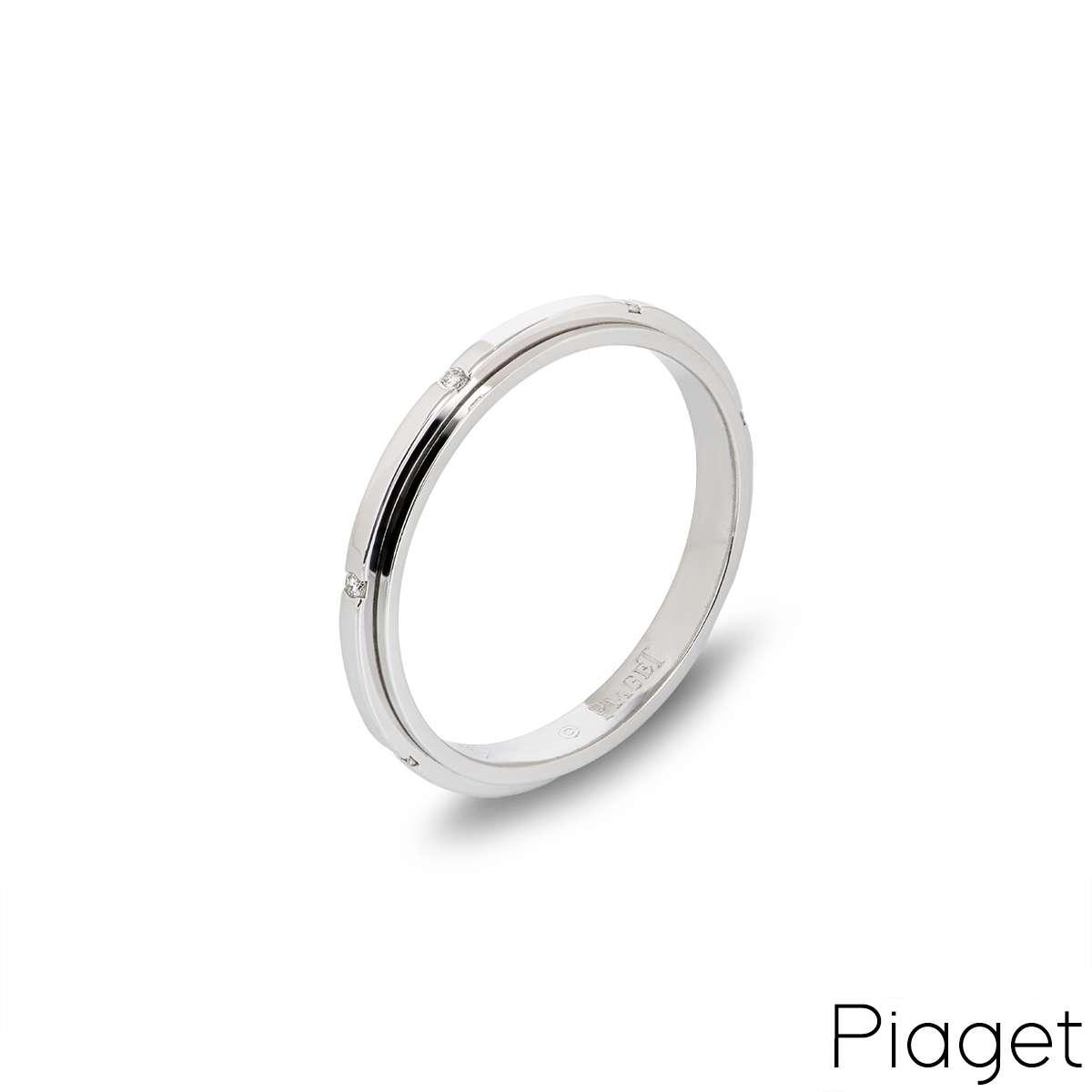 Piaget  White Gold Diamond Possession Ring G34PR500